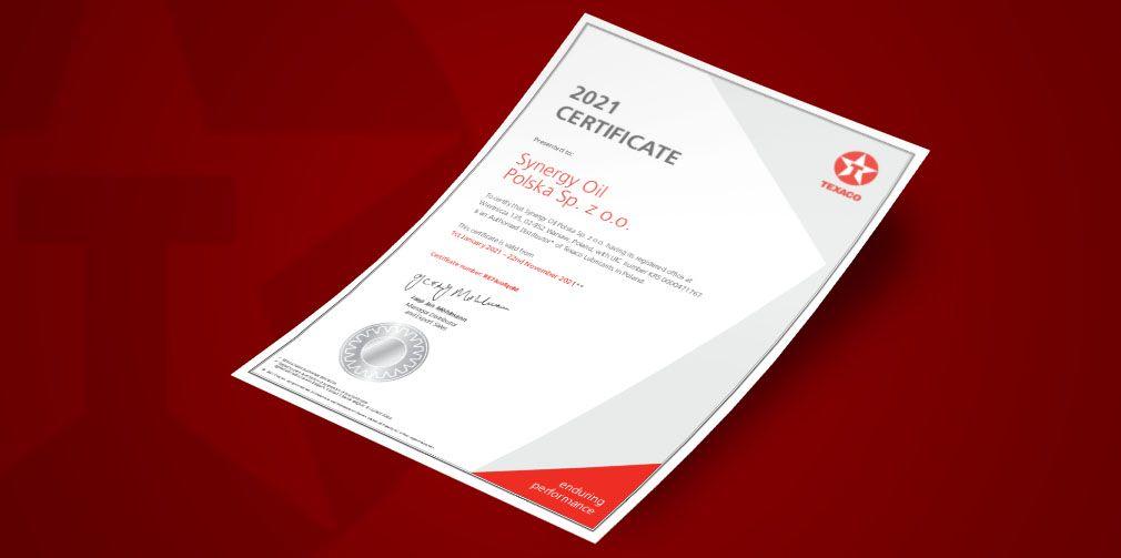 certyfikat-texaco-2021